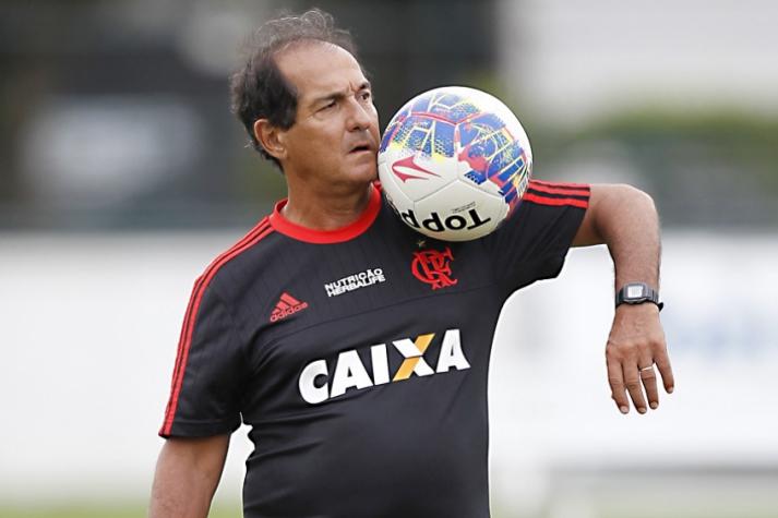 Muricy Ramalho não formou time nesta sexta (Foto: Gilvan de Souza/Flamengo)