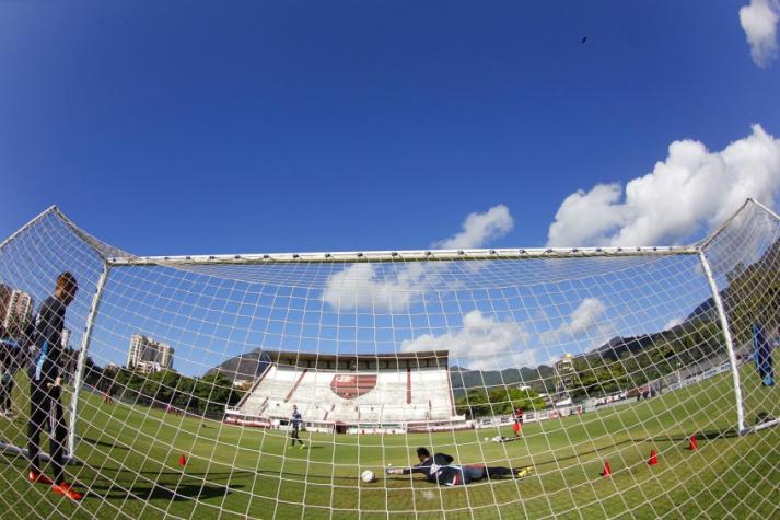 Flamengo treina na Gávea neste sábado e vai para hotel (Foto: Gilvan de Souza/Flamengo)
