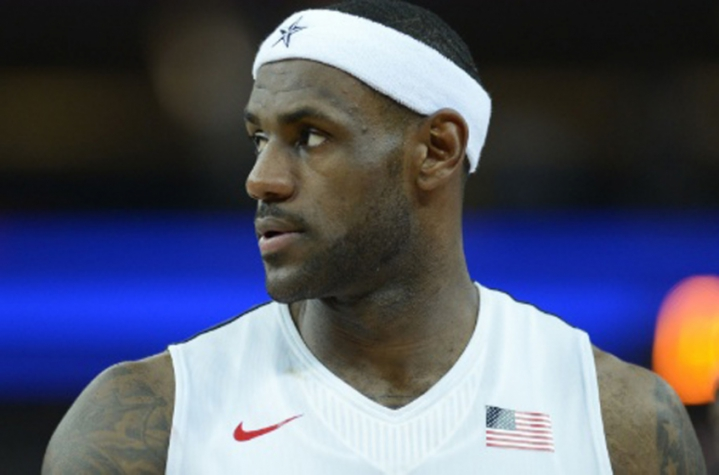 Lebron James (foto:AFP)