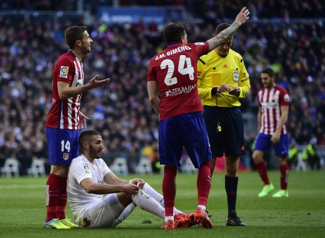 Benzema - Real Madrid x Atletico de Madrid