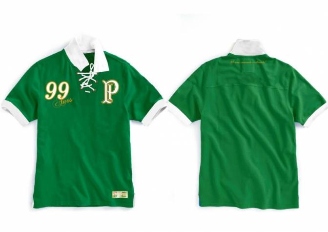 Palmeiras lança camisa pelos seus 99 anos  949875e17289b