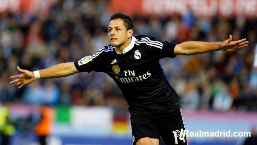 Celta x Real Madrid - Javier Hernandez/Chicharito (Foto: Site Oficial do Real Madrid)