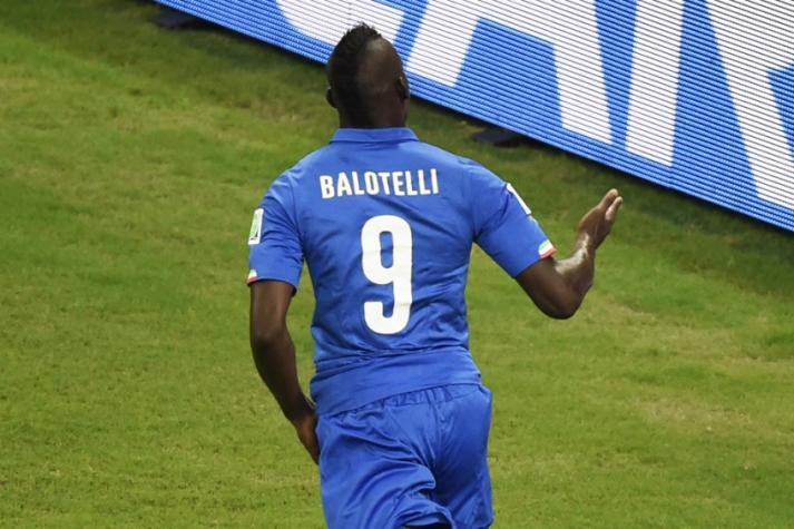 Inglaterra x Itália - Mario Balotelli (Foto: Odd Andersen/AFP)