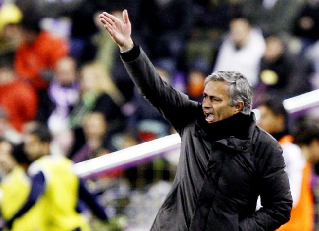 Mourinho - Real Madrid (Foto: Cesar Manso/AFP)