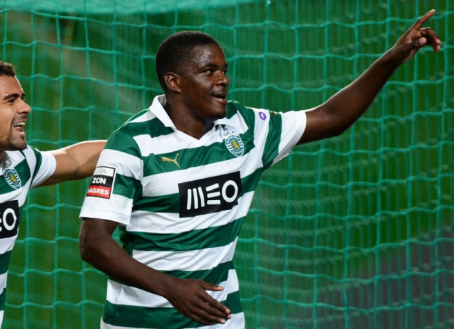 William Carvalho - Sporting (Foto: Francisco Leong/ AFP)