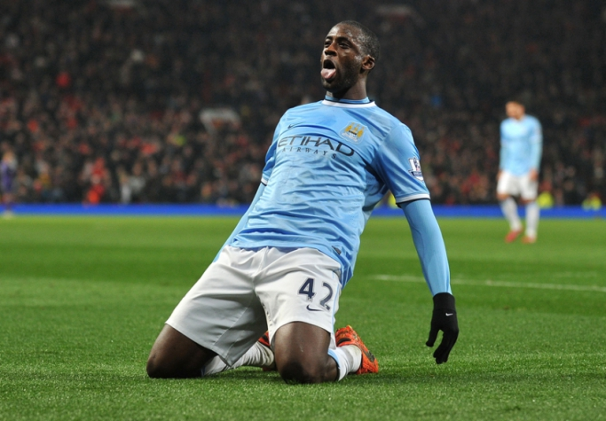 Yaya Touré faz boa temporada (Foto: Paul Ellis / AFP)