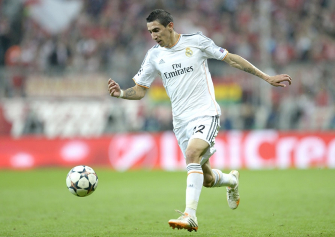 Di María - Real Madrid (Foto: Christof Stache/ AFP)