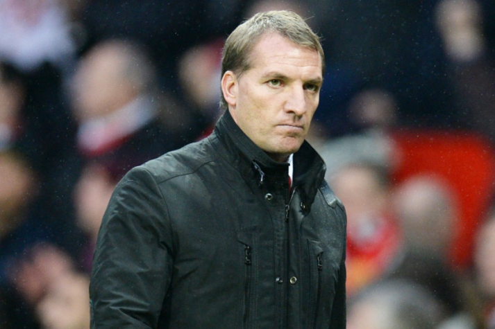 Manchester United x Liverpool - Brendan Rodgers (Foto: Oli Scarff/ AFP)
