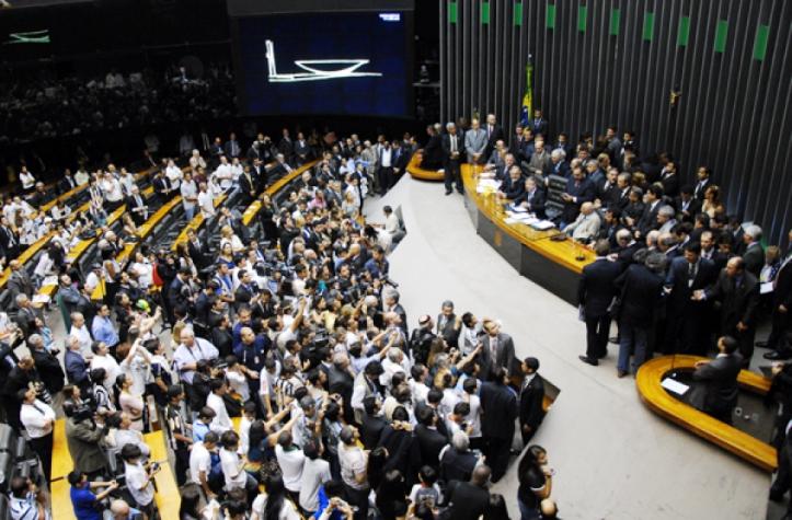 Homenagem ao Santos na Câmara dos Deputados (Foto: Reinaldo Ferrigno/Agencia Camara