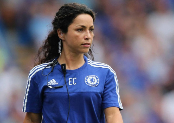 Eva Carneiro era chefe do departamento médico do Chelsea (Foto: AFP)