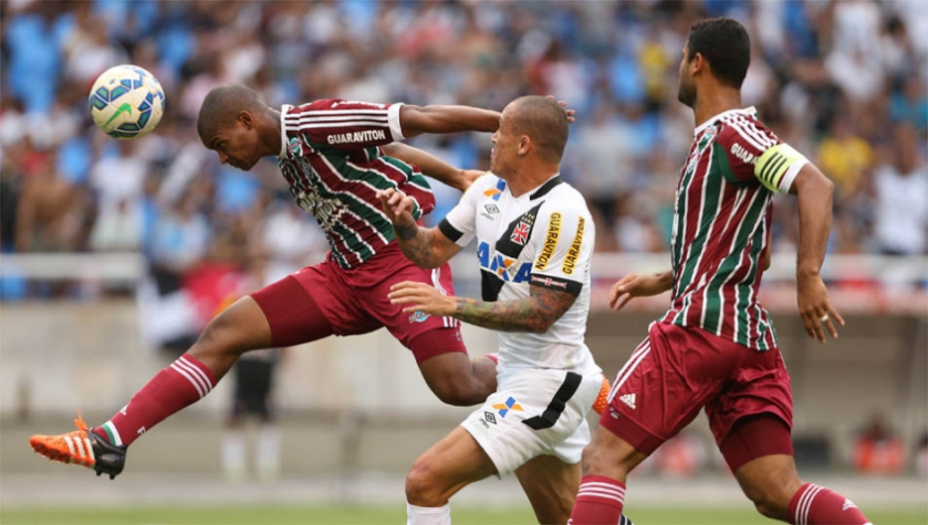 Vasco x Fluminense (foto:Cleber Mendes/LANCE!Press)