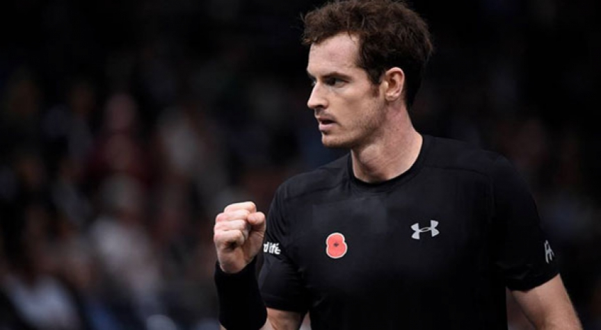 Andy Murray em Paris
