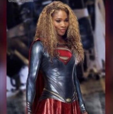 Super Serena Williams