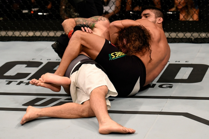 Thiago Tavares venceu Clay Guida (FOTO: Getty Images)