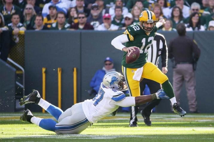 NFL - Green Bay Packers e Detroit Lions (Foto:AFP)