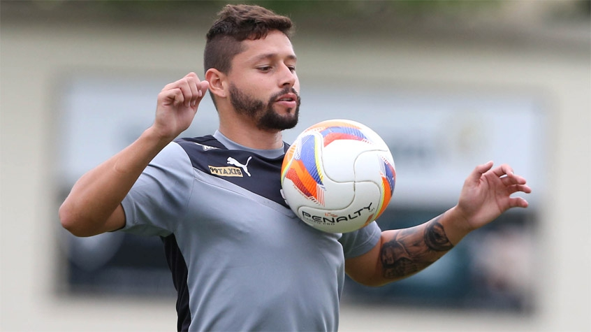 HOME - Treino do Botafogo - Elvis (Foto: Cleber Mendes/LANCE!Press)