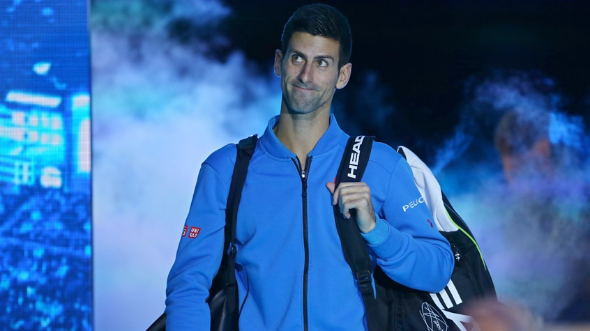 HOME - Novak Djokovic x Tomas Berdych - ATP World Finals (Fotos: Justin Tallis/AFP)