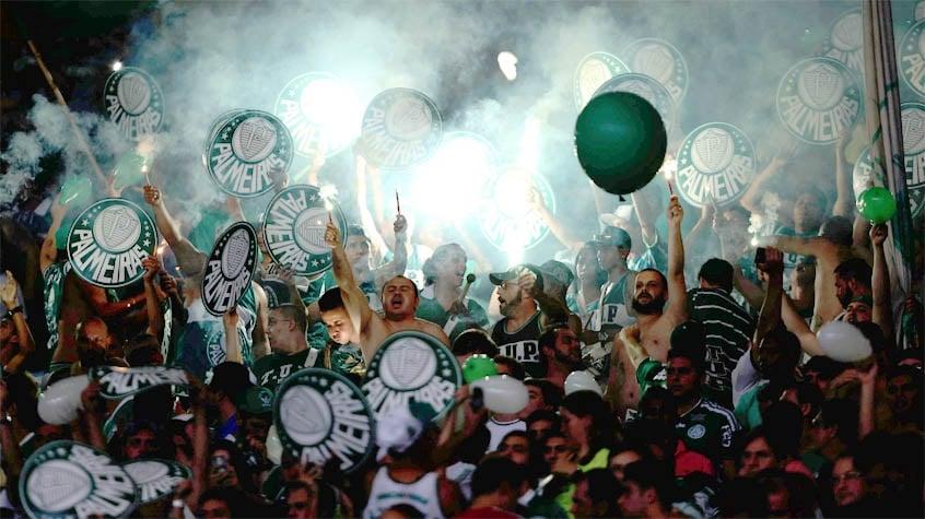 HOME - Fluminense x Palmeiras - Copa do Brasil - Torcida do Verdão (Foto: Cleber Mendes/LANCE!Press)