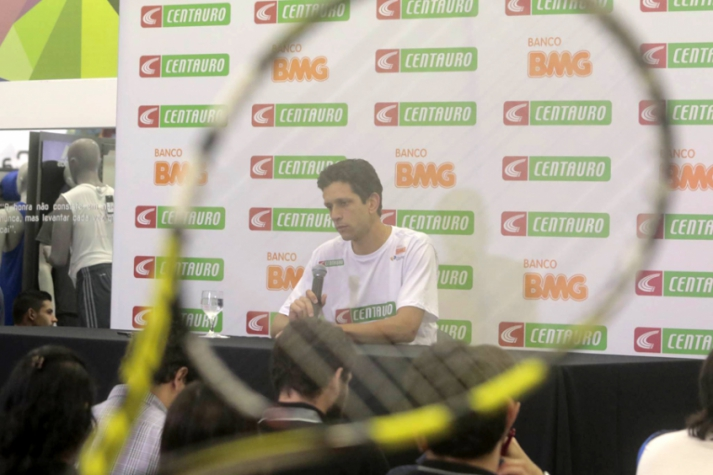 Coletiva do Marcelo Melo (Foto: Reginaldo Castro/LANCE!Press)