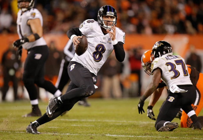 NBA - Baltimore Ravens x Cleveland Browns (Foto: Gregory Shamus/Getty Images/AFP)