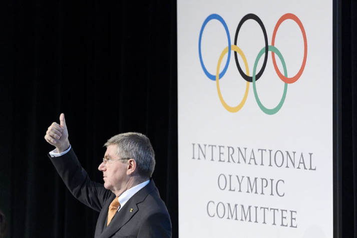Thomas Bach presidente do COI (Foto: Fabrice Coffrini/AFP)