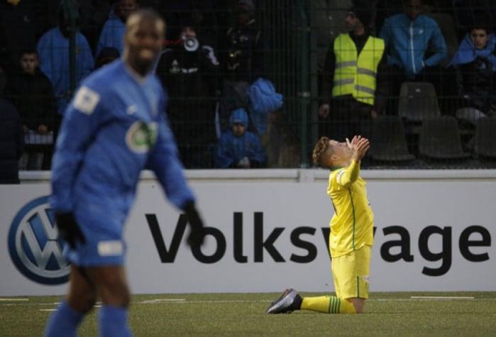 Adryan fez um dos gols da vitória do Nantes (Foto: Eliot Blondet / AFP)