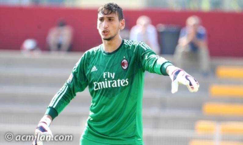 c24d9e6e01 Histórico  goleiro de 17 anos do Milan é convocado para a seleção ...