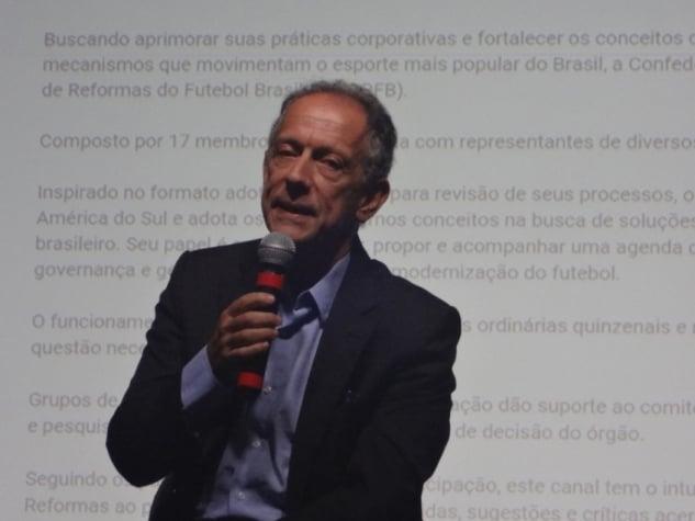 Walter Feldman, secretário-geral da CBF e presidente do Comitê de Reformas