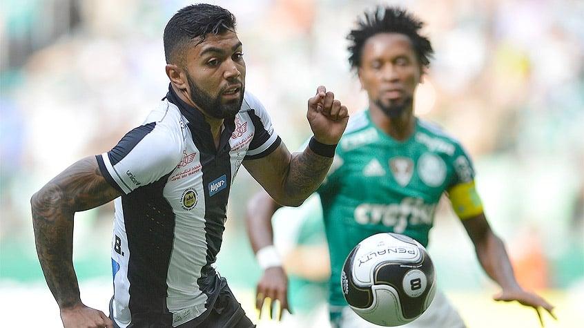 HOME - Palmeiras x Santos - Campeonato Paulista - Gabigol e Zé Roberto (Foto: Mauro Horita/AGIF/LANCE!Press)