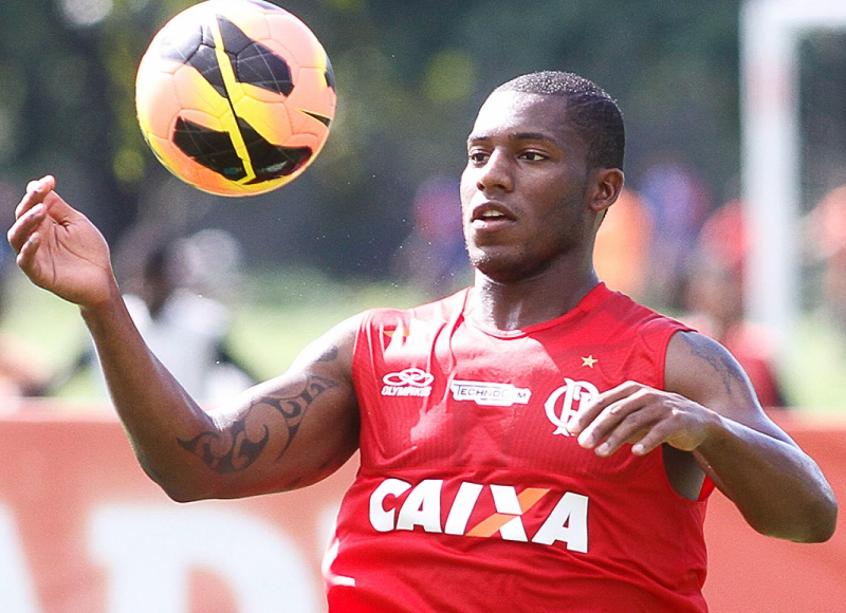 Amaral - Treino do Flamengo (Foto: Ruano Carneiro/LANCE!Press)