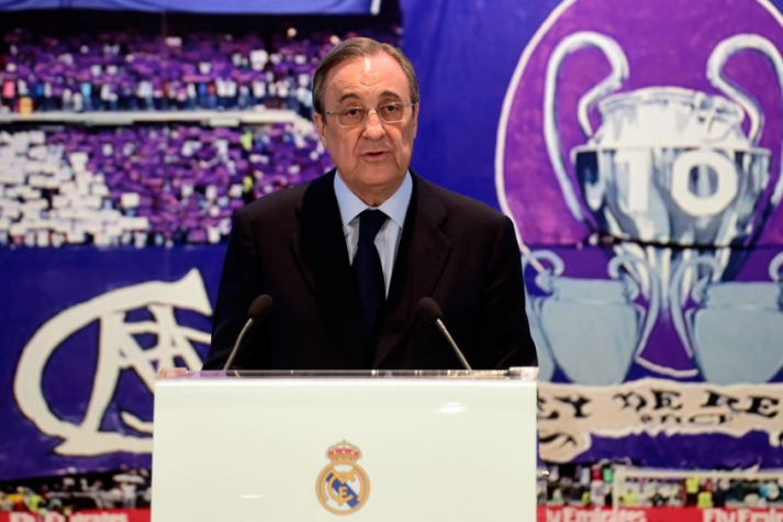 Florentino Perez  - Real Madrid (Foto: Pierre-Philippe Marcou/ AFP)