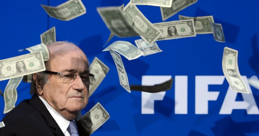 Joseph Blatter durante coletiva de imprensa (Foto:AFP)