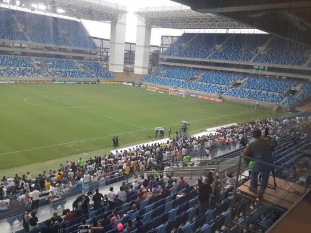 Santos confirma que duelo com o Flamengo ser� na Arena Pantanal