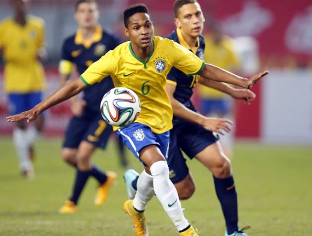 Wendell é convocado para a Seleção Brasileira Sub-23 (Foto  Divulgação   CBF 5b7a4d0abe80d
