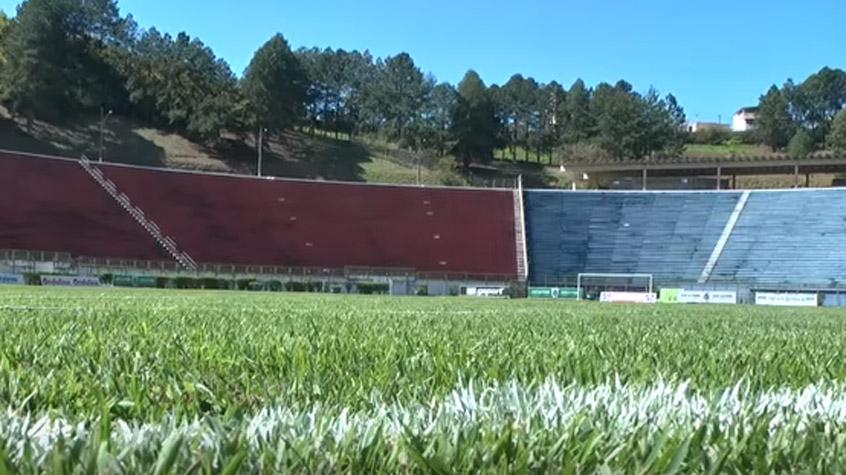 HOME - Estádio Radialista Mário Heleno em Juiz de Fora (Foto: Reprodução/Juiz de Fora)