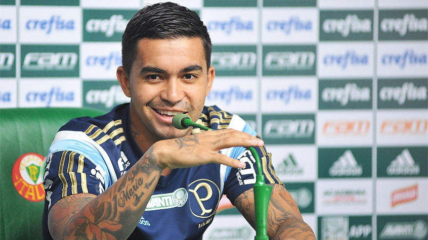 HOME - Entrevista coletiva no Palmeiras - Dudu (Foto: Bruno Uliana/Raw Image/LANCE!Press)