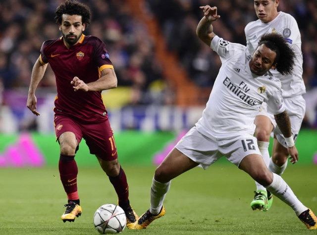 Marcelo - Real Madrid x Roma