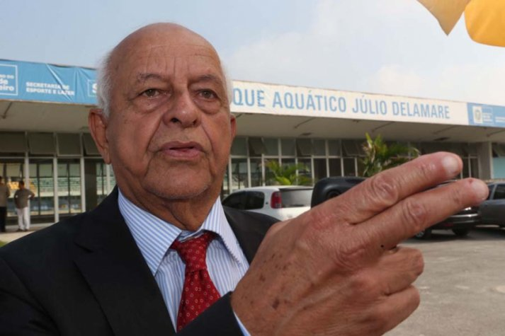 Coaracy Nunes, da CBDA, chegou a ser preso mas sempre negou envolvimento com irregularidades. Crédito: Divulgação / Lance