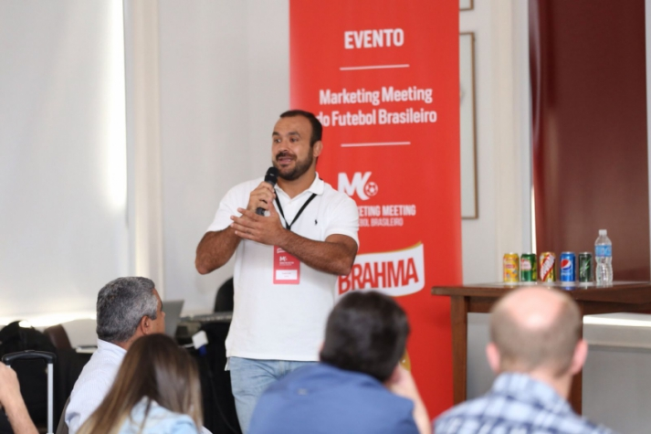 Sandro Leite - gerente de marketing esportivo da Ambev