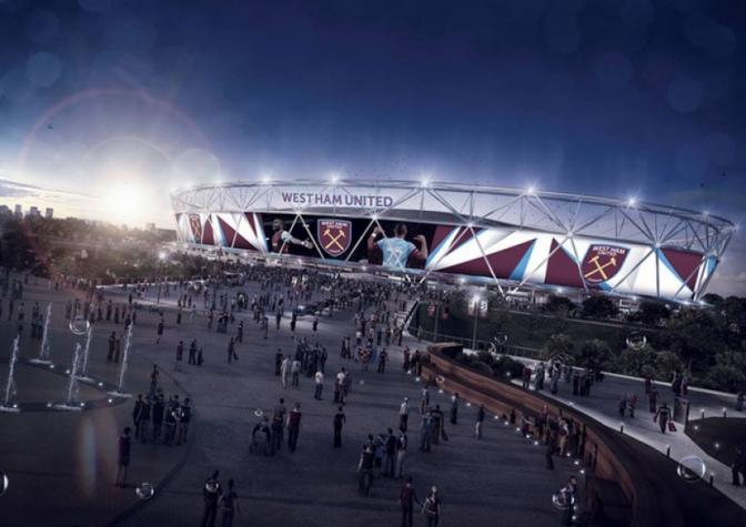 West Ham anuncia amplia��o do Est�dio Ol�mpico para 60 mil lugares