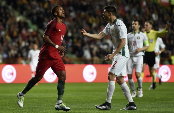 Portugal x Bulgaria (foto:FRANCISCO LEONG / AFP)