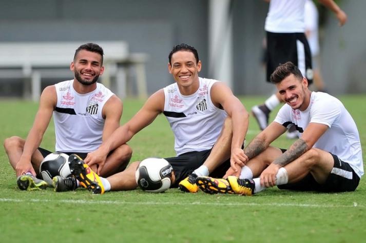 Zeca, Thiago Maia e Ricardo Oliveira