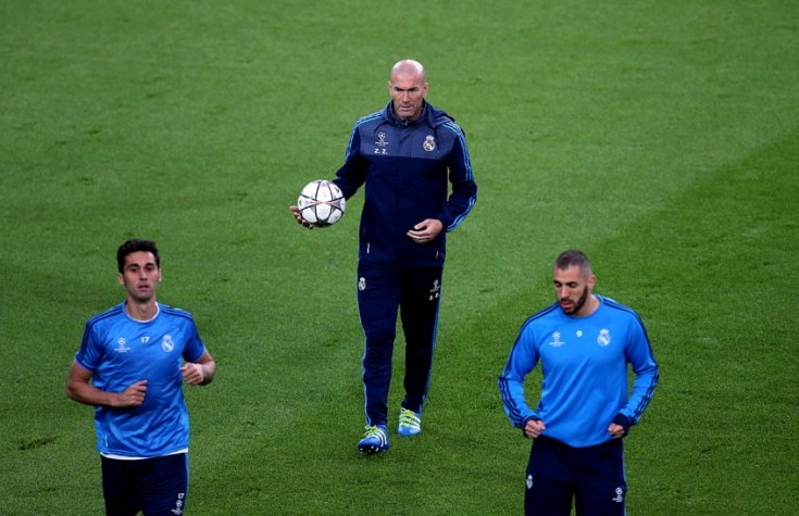 Zidane - Treino do Real