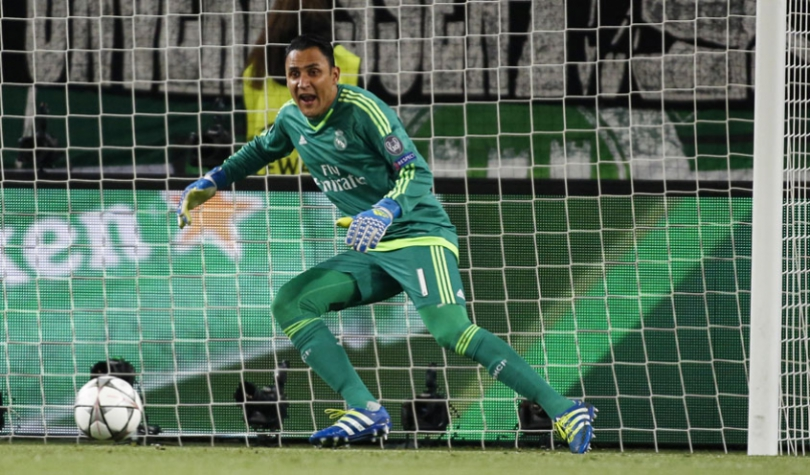 Navas - Wolfsburg x Real Madrid