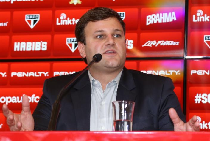 Diretor de marketing, Vinicius Pinotti pode assumir futebol do São Paulo