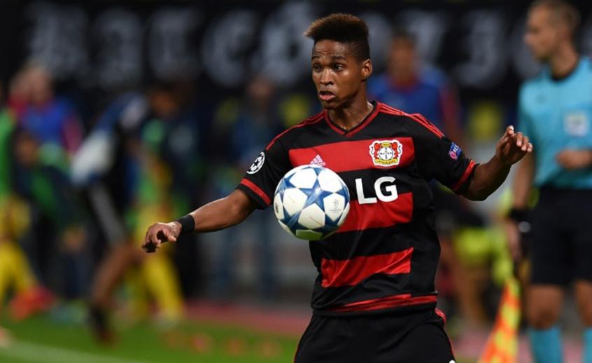 O ex-gremista Wendell é hoje lateral-esquerdo titular do alemão Bayern Leverkusen