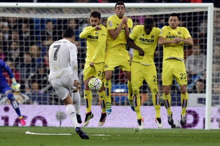 Real Madrid x Villarreal