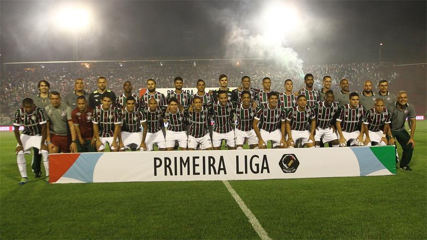 HOME - Fluminense x Atlético-PR - Primeira Liga - Time posado (Foto  5d2bf10187b0b