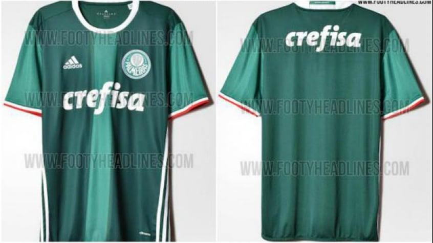 Nova camisa verde do Palmeiras já está em pré-venda na internet f6dd3a3937e44