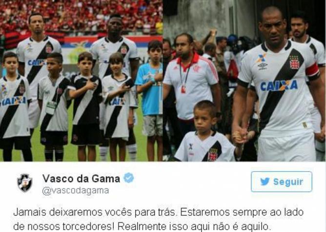 Vasco provoca o Flamengo